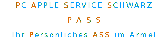 PC-APPLE-SERVICE SCHWARZ